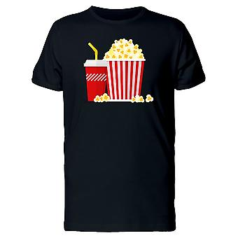 Popcorn And Soda  Tee Men's -Image by Shutterstock