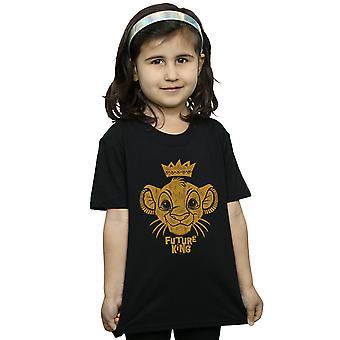 迪斯尼女孩狮子王未来国王T恤