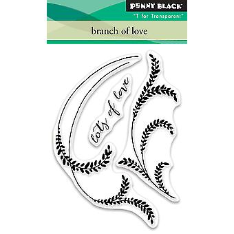 Penny Black Clear Stamps-Branch Of Love
