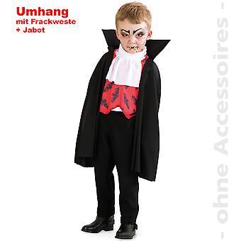 Disfraz de vampiro infantil capa de Drácula traje del niño cabo Conde Drácula