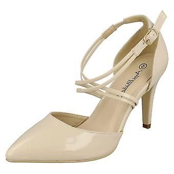 Ladies Anne Michelle Pointed Court Shoes