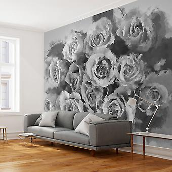 Wallpaper - A dozen roses