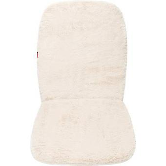 Unitec 75777 Seat covers 1-piece Polyester, Synthetic fur Beige Driver's seat