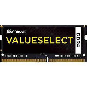 Memoria de Laptop RAM Corsair ValueSelect CMSO4GX4M1A2133C15 4 GB 1 x 4 GB DDR4 RAM 2133 MHz CL15-15-15-36