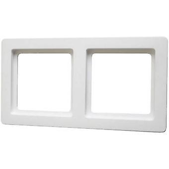 Berker 2x Frame Q.1 Polar white