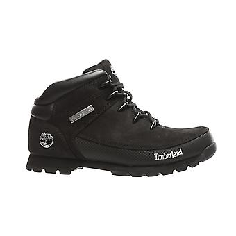 Timberland leather boots euro Sprint hiker boots black
