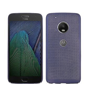 Caja del teléfono celular para Motorola Moto G4 funda bolso de la caja cubierta caja azul