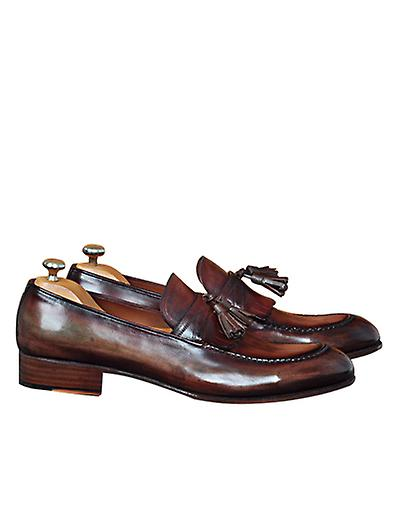 Handcrafted Premium Leather Luca Loafer Shoe Shoe Loafer d52596