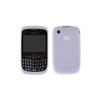 Gema de OEM BlackBerry funda de piel de silicona f0r BlackBerry 8520, 8530, 9330 - blanco