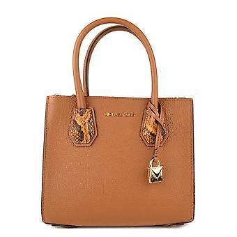 MICHAEL by Michael Kors Mercer Acorn Leather Accordion Messenger Bag