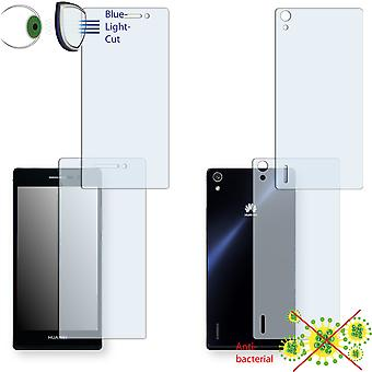 Huawei Ascend P7 display protector - Disagu ClearScreen protector (1 front / 1 rear)