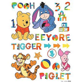 Selbstklebende Dekoration Baby Pooh Disney 65x85cm