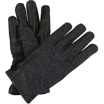 雷加塔 妇女/女士 盖尔西 猪 皮 温暖 皮革 羊毛衬里手套