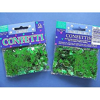 SALE -  14g Green Star Confetti Sequins - Ideal for St Patricks Day