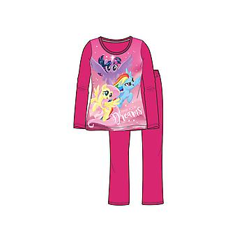 My Little Pony Pyjama Donkerroze Maat 92