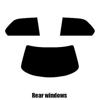 Pre gesneden venster tint - Lexus LS 4-deurs sedan - 1995 tot 2000 - achterzijde windows