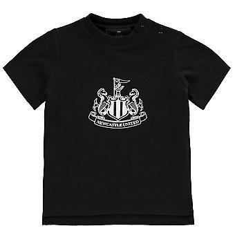 NUFC dzieci Crest koszulkę Baby84 pod szyją