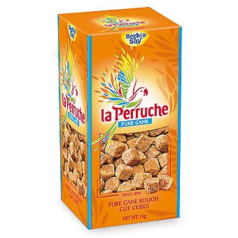 La Perruche brauner Würfel Rohschnitt