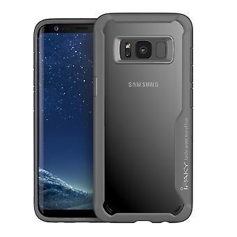 IPAKY Samsung Galaxy S8 Plus TPU Hybrid Shell-grå