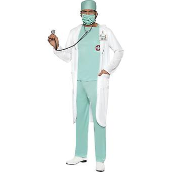 医者のコスチューム、胸 38