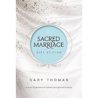 Sacred Marriage Gift Edition by Gary L. Thomas - 9780310355199 Book