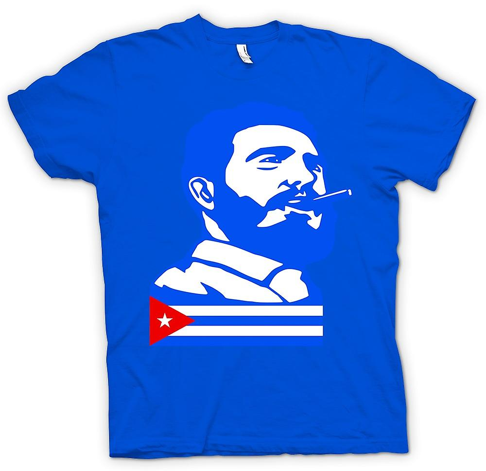 Mens t-skjorte - Fidel Castro - Cuba
