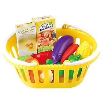 Playgo Korb mit Gemüse, 13dlg.