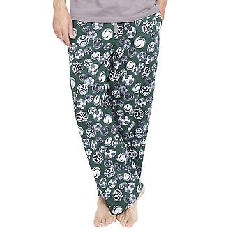 Cyberjammies 6338 Men's Alfie Grey Football Print Pyjama Pant
