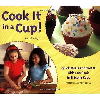 Cocinar en una taza: comidas rápidas y trata a los niños pueden cocinar en silicona