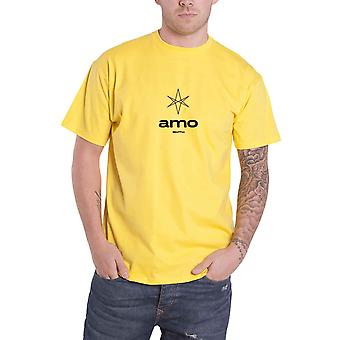 Bring Me The Horizon T Shirt Hexagram Amo Band Logo new Official Mens Yellow