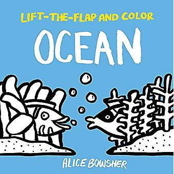 Lift-The-Flap and Color: Ocean (Lift-The-Flap and Color)