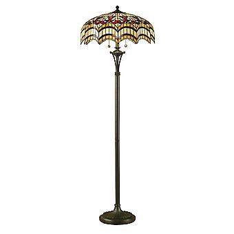 Vesta Tiffany stil golvlampa - interiör 1900 64373