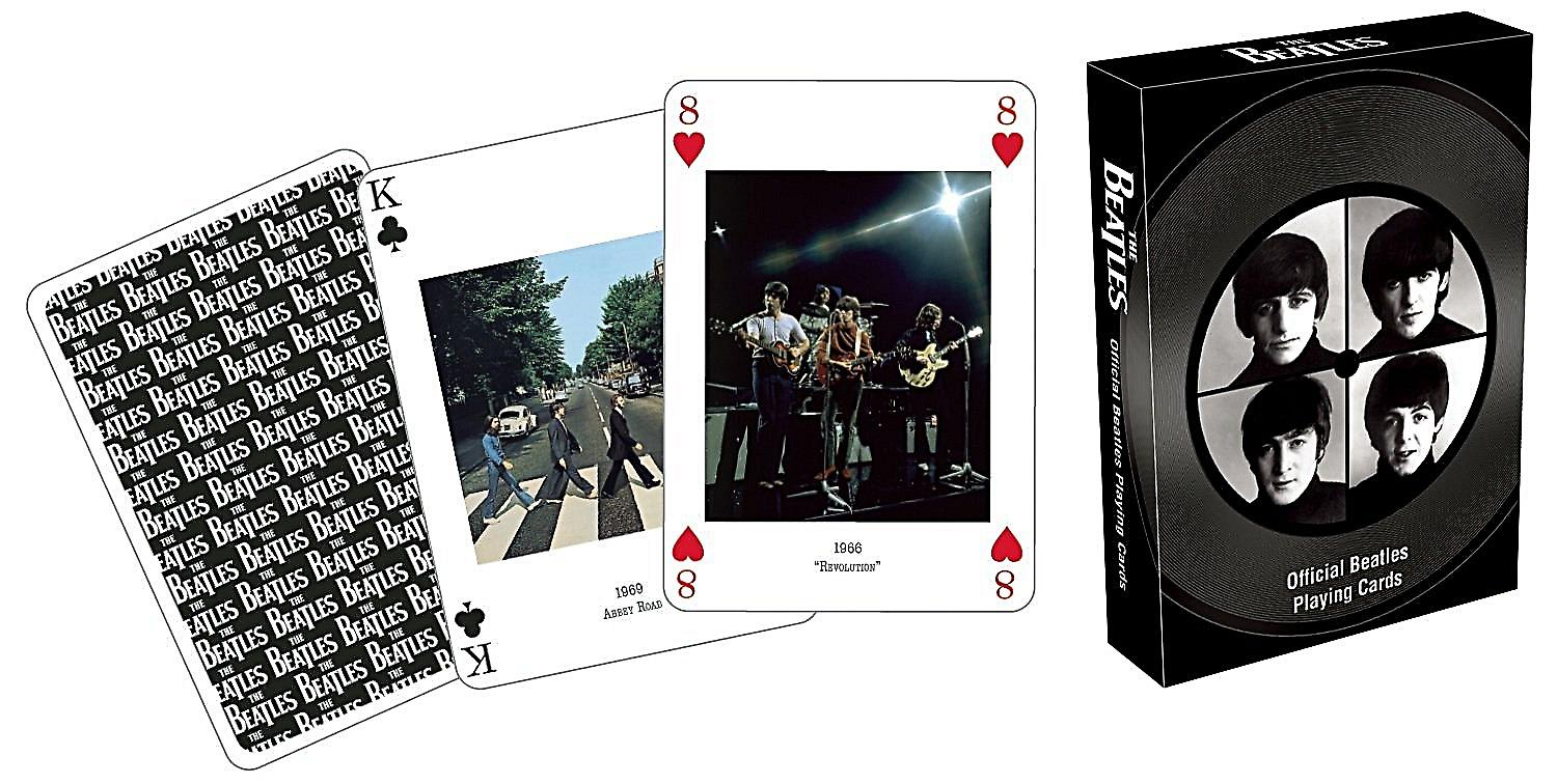 Beatles Group set of playing cards    (nm)