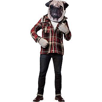 Perro Kit foto imprimir máscara para adultos