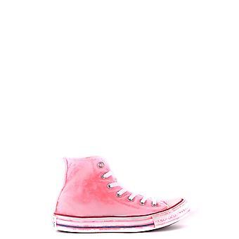 Converse Pink Fabric Hi Top Sneakers