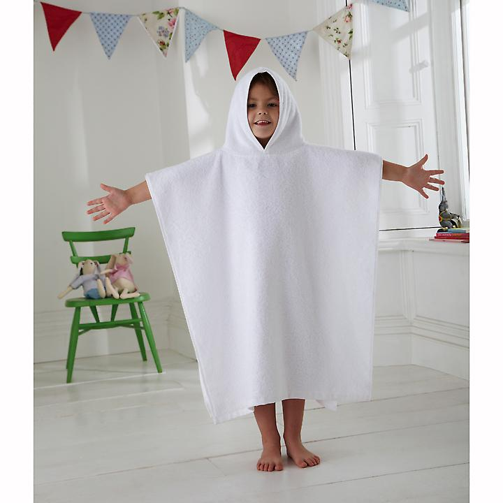 Kids Terry Towelling Poncho