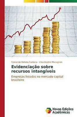 Evidenciao sobre recursos intangveis by Fontana Fernando Batista