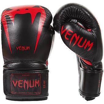 Venum Giant 3.0 Hook e Loop MMA guanti di allenamento - Black/Red Devil