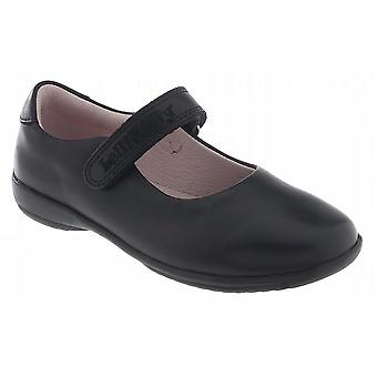 Lelli Kelly Classic LK8218 Black Leather Girls School Shoes