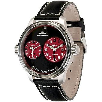 Zeno-Watch Herrenuhr OS Pilot Dual Time 8671-b17