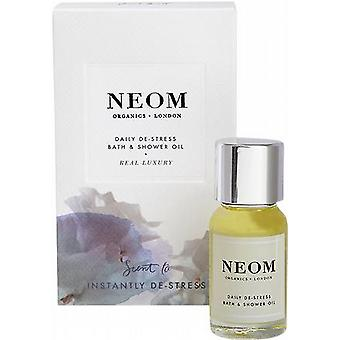 Neom Real Luxury Daily De-Stress Bath & Shower Oil