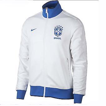 2019-2020 Brazil Nike Authentic N98 Jacket (White)