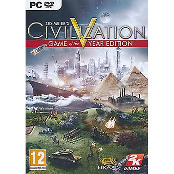 Civilization V 5 Game of the Year Edition - PC