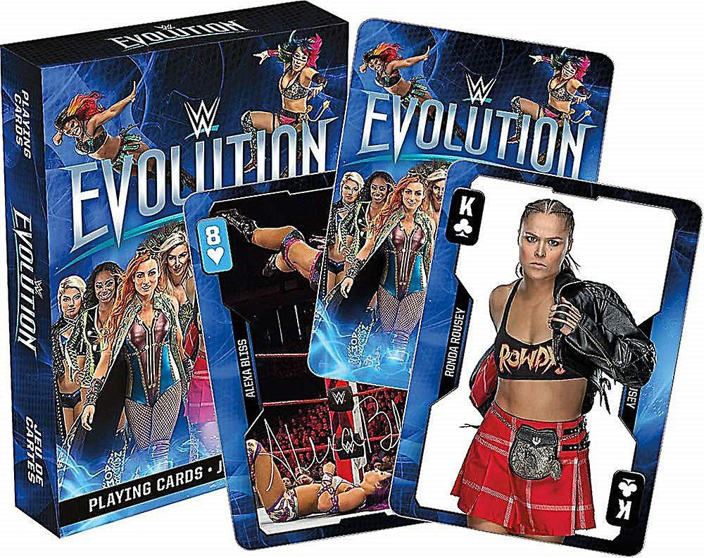 WWE Evolution Divas set of 52 playing cards + jokers (nm)