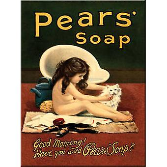 Pears Soap Good Morning steel fridge magnet  (hb)