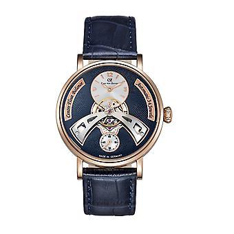 Carl von Zeyten Herren Uhr Armbanduhr Automatik Baden-Baden CVZ0042RBL