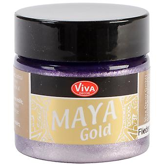 Viva Decor Maya Gold 50Ml Lilac Maya 50134