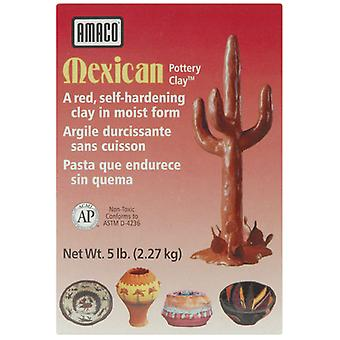 Mexican Self Hardening Clay 5 Pounds Red 48652C