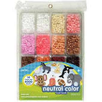 Perler Fun Fusion Beads 4000 Pkg Neutral Color 80 17514