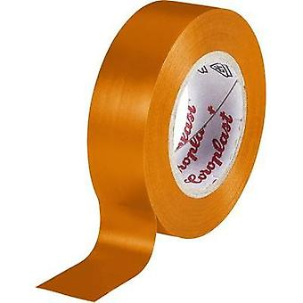 Electrical tape Coroplast Orange (L x W) 10 m x 15 mm Acrylic Content: 1 Rolls